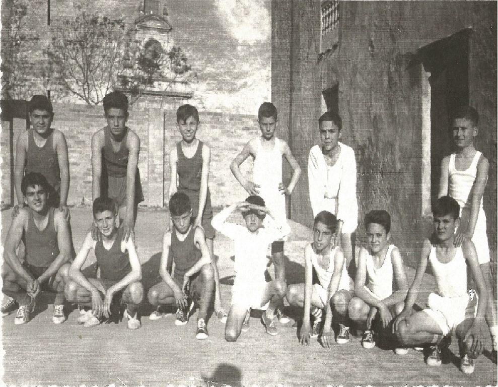 Primer equipo del Club Nautico 1967-68